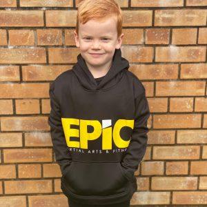 Kids EPiC Logo Premium Shiny Hoodie