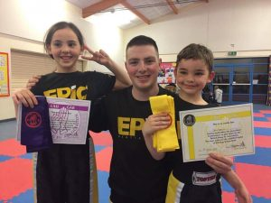 Ben with Jess and Dean Andrews