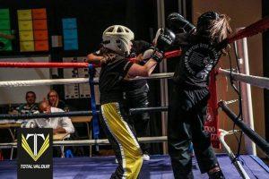 Jess Andrews fights back