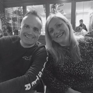Andy with wife Theresa