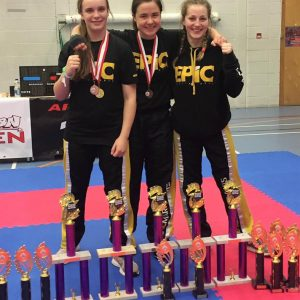 ladies Kickboxing Emma Thomas