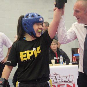 ladies kickboxing emma thomas epic
